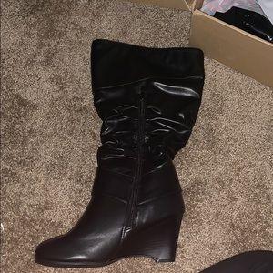 Brand new wide calf women boots